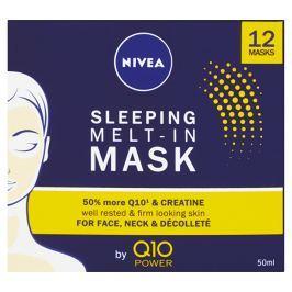 Nivea Noční maska pro obnovu pleti s koenzymem Q10 Power  50 ml