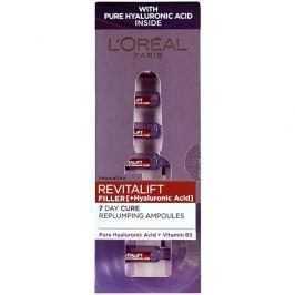 Loreal Paris Vyplňující pleťová péče s kyselinou hyaluronovou Revitalift Filler  7 x 1,3 ml