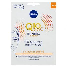 Nivea textilní 10 minutová maska Q10 Plus C  1 ks