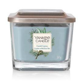 Yankee Candle Aromatická svíčka střední hranatá Coastal Cypress  347 g
