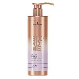 Schwarzkopf Professional Bezsulfátový tónovací šampon pro blond vlasy BLONDME Lilac  250 ml
