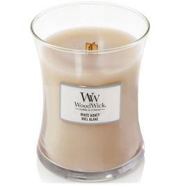 WoodWick Vonná svíčka váza White Honey  275 g