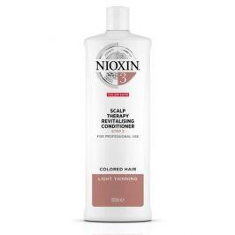 Nioxin Revitalizér pokožky pro jemné barvené mírně řídnoucí vlasy System 3  300 ml