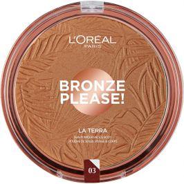 L´Oréal Paris Bronzový pudr na obličej a tělo La Terra 01 Portofino Legger 18 g