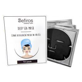 Sefiros Černá detoxikační maska na obličej  3 ks/bal.