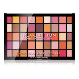 Revolution paletka pudrových očních stínů Maxi Reloaded Palette Big Big Love  60,75 g