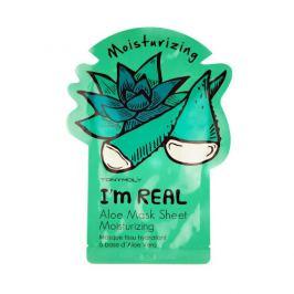Tony Moly Hydratační pleťová maska s aloe vera I´m Real 21 g