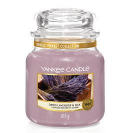 Yankee Candle Aromatická svíčka Classic střední Sušená levandule a dub  411 g