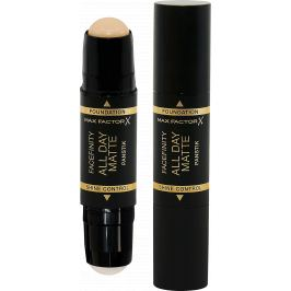 Max Factor Zmatňující báze a make-up v tyčince 2v1 Facefinity 42 Ivory 11 g
