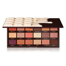 Makeup Revolution Paletka očních stínů Nudes Chocolate 22 g