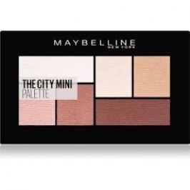Maybelline Paletka očních stínů The City Mini Palette 480 Matte About Town 6 g