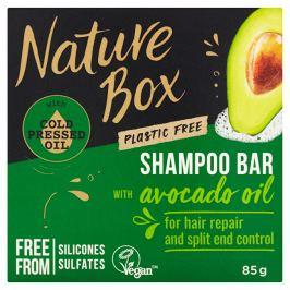 Nature Box Tuhý šampon pro regeneraci vlasů a kontrolu roztřepených konečků Avocado Oil  85 g