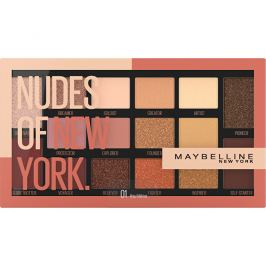Maybelline Paletka 16 očních stínů Nudes of New York  18 g