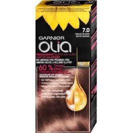 Garnier Permanentní olejová barva na vlasy bez amoniaku Olia 7.0 tmavá blond