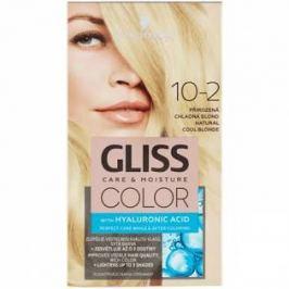 Schwarzkopf Permanentní barva na vlasy Gliss Color 10-2 Přirozená chladná blond
