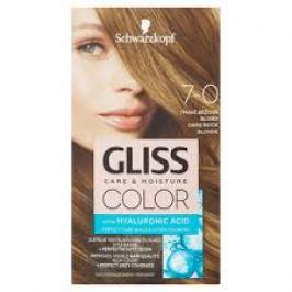 Schwarzkopf Permanentní barva na vlasy Gliss Color 7-00 Tmavá béžová blond