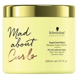 Schwarzkopf Professional Intenzivní hydratační maska pro kudrnaté vlasy Mad Abouth Curls  650 ml