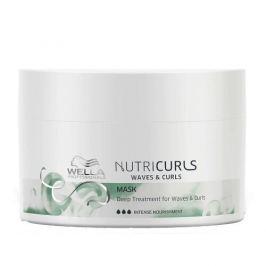 Wella Professionals Uhlazující maska pro vlnité a kudrnaté vlasy Nutricurls (Waves & Curls Mask) 500 ml