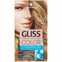 Schwarzkopf Permanentní barva na vlasy Gliss Color 8-0 Přirozená blond
