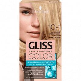 Schwarzkopf Permanentní barva na vlasy Gliss Color 10-1 Ultra světlá perleťová blond