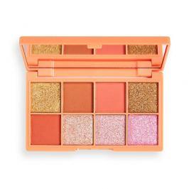 Revolution Paletka očních stínů Mini Tasty Peach  10,8 g