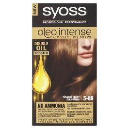 Syoss Oleo Intense dlouhotrvající olejová barva Půvabně Hnědý 5-86
