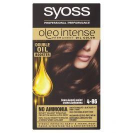 Syoss Oleo Intense barva na vlasy Čokoládově hnědý 4-86