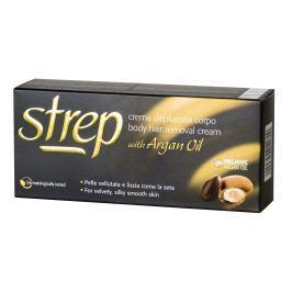 Strep depilační krém pro tělo s arganovým olejem  100 ml