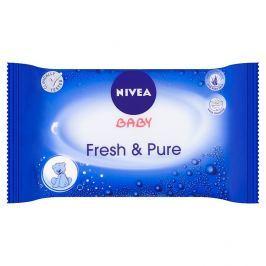 Nivea Baby ubrousky Pure&Fresh 63 ks