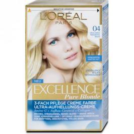 L'oréal Paris EXCELLENCE CRÈME barva na vlasy 04  Blond ultra světlá šampaň