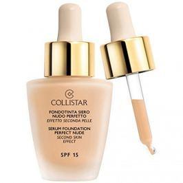 Collistar tekutý make-up se sérem pro vzhled nahé pleti 01 Ivory, 30 ml