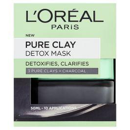 L'Oréal Paris Pure Clay intenzivní čisticí rozjasňující maska 50 ml