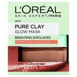 L'Oréal Paris Pure Clay exfoliační vyhlazující maska 50 ml
