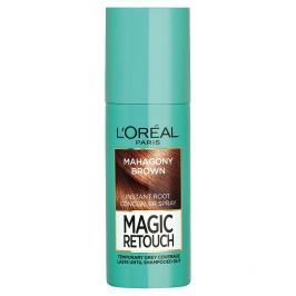 L'Oréal Paris Magic Retouch sprej pro okamžité zakrytí odrostů Mahagonová, 75 ml