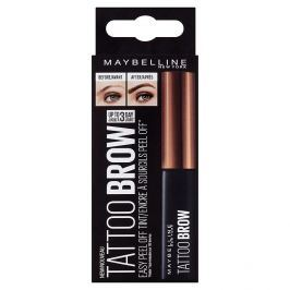 Maybelline Brow Tattoo Gel Tint semi-permanentní gel na barvení obočí 02 Medium Brown