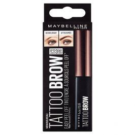 Maybelline Brow Tattoo Gel Tint semi-permanentní gel na barvení obočí 03 Dark Brown