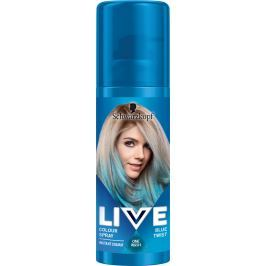 Schwarzkopf Live Color Blue Twist vlasový sprej 120 ml