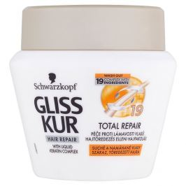 Gliss Kur Total Repair péče proti poškození vlasů pro suché a namáhané vlasy 300 ml