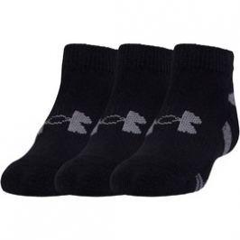 Ponožky UA HeatGear 3Pk Lo Cut