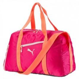 Dámská taška Puma Fit AT Sports Duffle rose red-