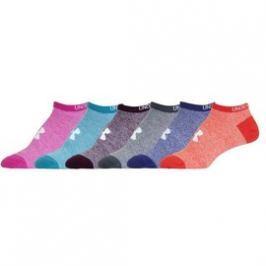 Dámské Ponožky Under Armour UA W Solid 6 Pks No Show