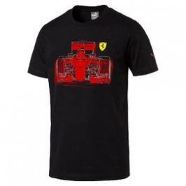 Pánské tričko Puma Ferrari SF Graphic Tee Puma Black