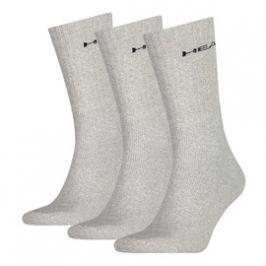Unisex ponožky Head Crew 3 páry