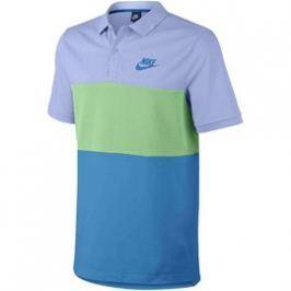 Pánská polokošile Nike M NSW POLO PQ MATCHUP CLRBLK