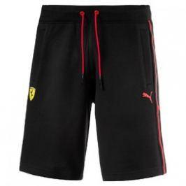 Pánské Kraťasy Puma Ferrari SF Sweat Bermudas Cotton Black