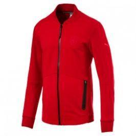 Pánská bunda Puma Ferrari Ferrari Sweat Jacket Rosso Cor