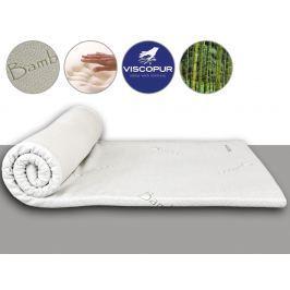 VISCOPUR Vrchní matrace (přistýlky) VISCOPUR® bamboo 3,5 cm - 80x200 cm | 1+1 zdarma (2ks)