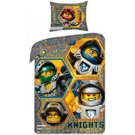 Halantex Halantex povlečení Lego Nexo Knights 140x200cm + 70x90cm