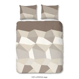 Good Morning 3D povlečení Good Morning 100% bavlna Stefan Taupe - 140x200-220 / 60x70 cm