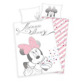 Herding Povlečení pro miminka Minnie Mouse 100x135/40x60cm